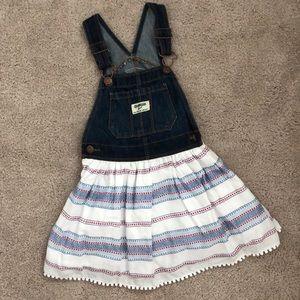[OshKosh] overall dress